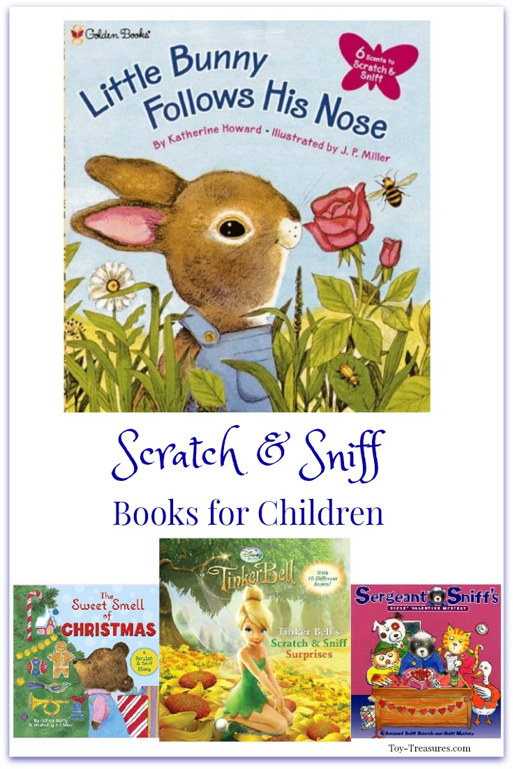 Scratch and Sniff Books for Kids