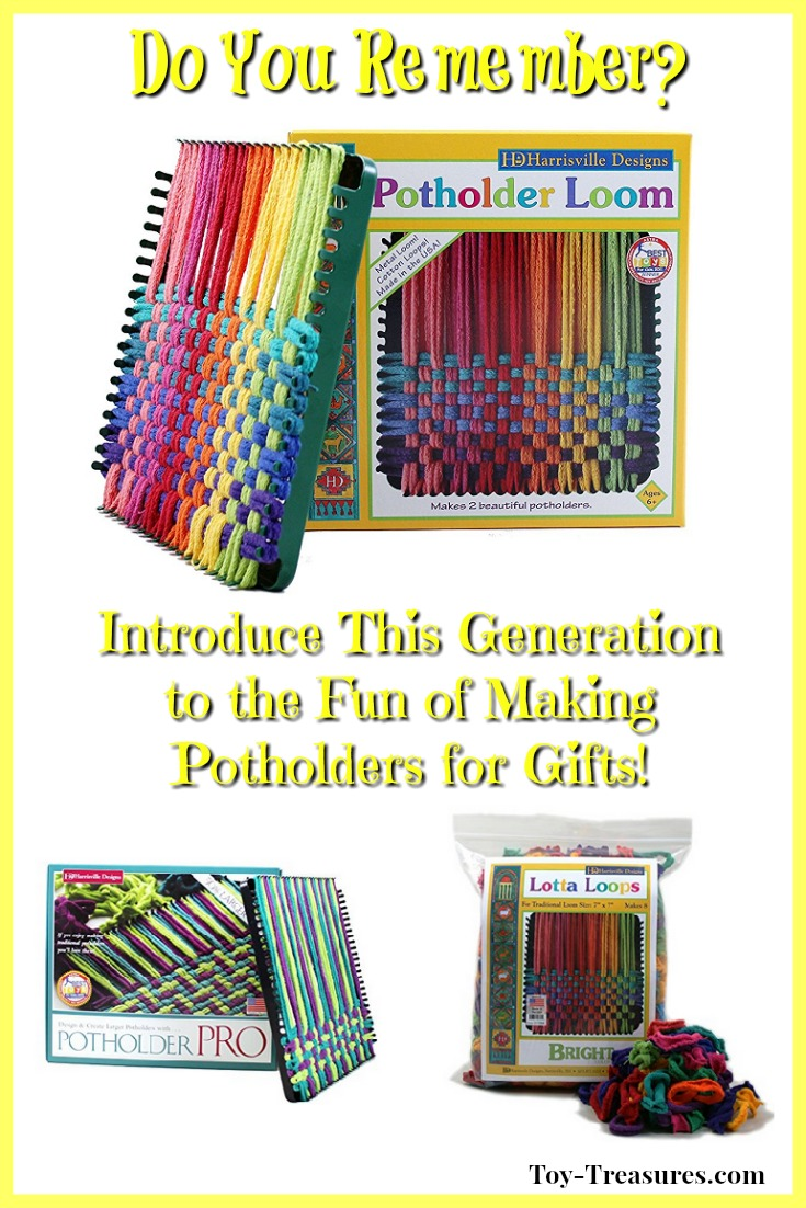 Potholder Loom & Loops
