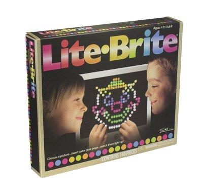 Lite Brite Lighted Peg Art
