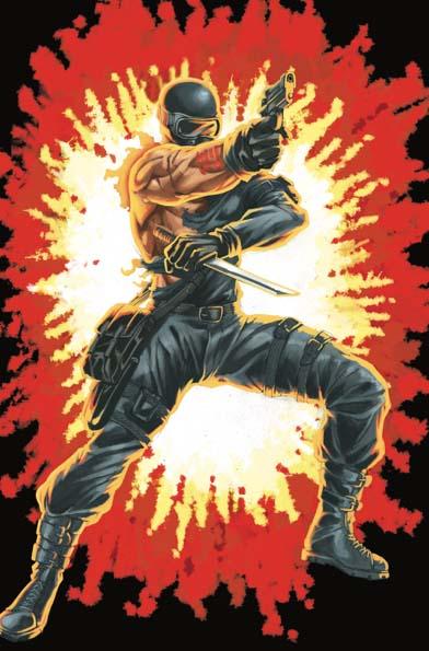 GI Joe Real American Hero #264 Silent Master Variant Cover E Sunday