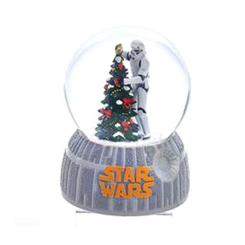 Statue Snow Globe