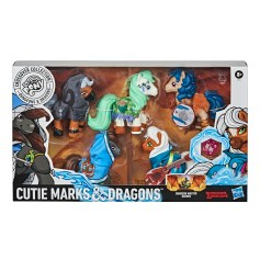 Cutie Marks and dragons in pack
