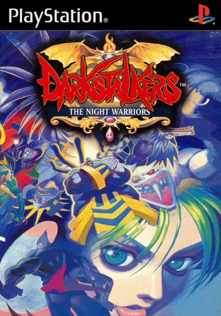 Darkstalkers_The_Night_Warriors_PS1_Cover