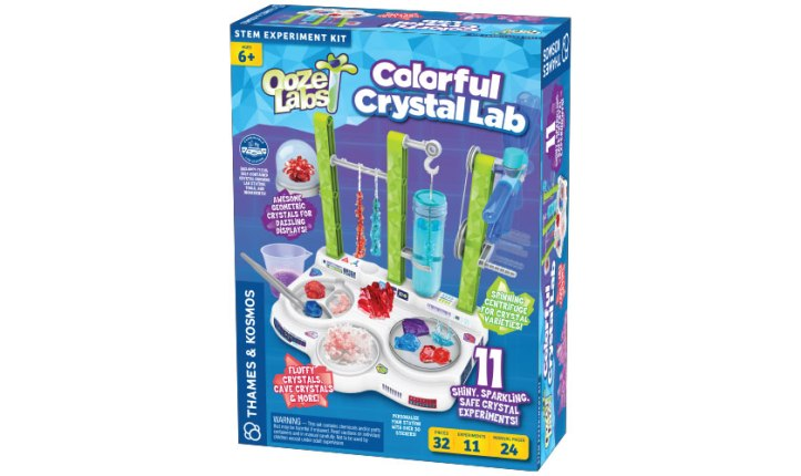 Ooze Labs Colorful Crystal Lab Image 1