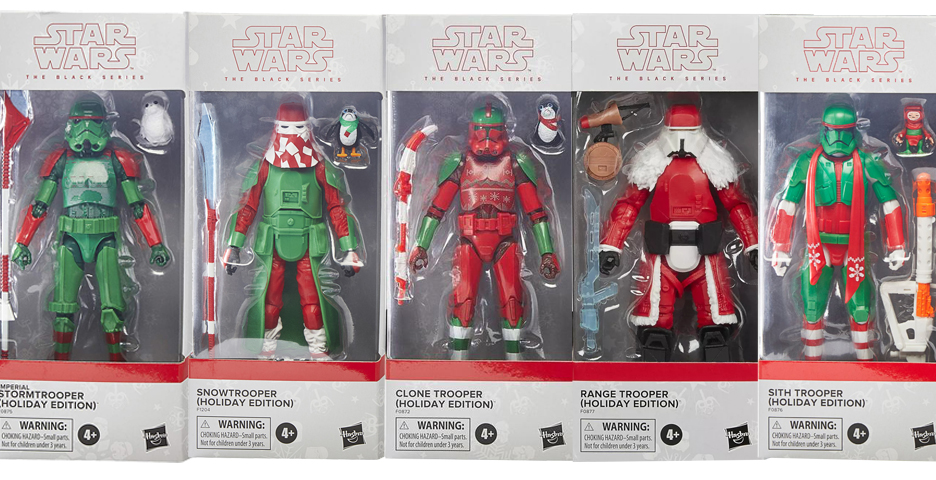 """Holiday Edition Star Wars The Black Series 6"""" RANGE TROOPER Target Exclusive"""