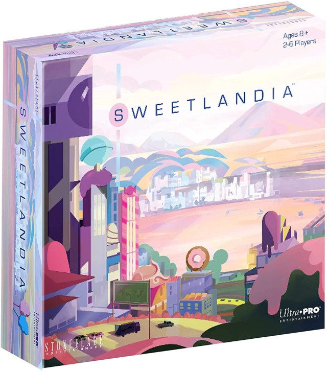UltraPro Entertainment: Sweetlandia lets players plan and build a city made of sweets