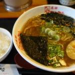 【2019年1月末閉店】【飛騨ちんかぶ】富山市で優しい味の飛騨中華そばを。とんかつ等、定食メニューも豊富なお店は落ち着く空間!