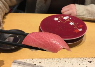 sushi(medium‐fatty tuna)