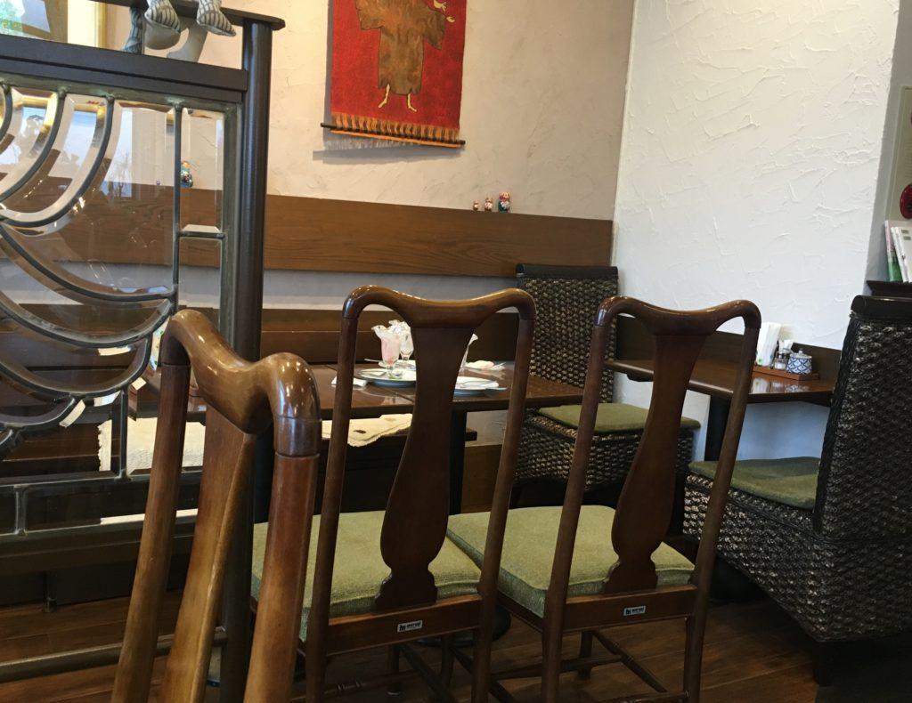 テーブル席その3