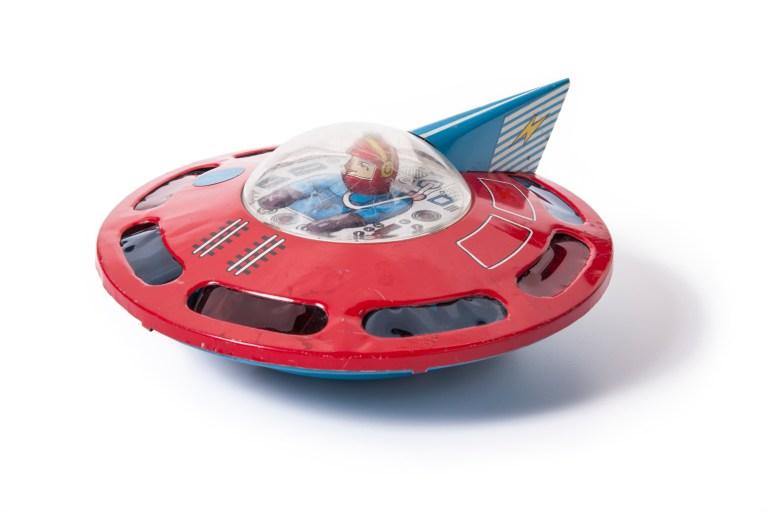 Flying saucer boy