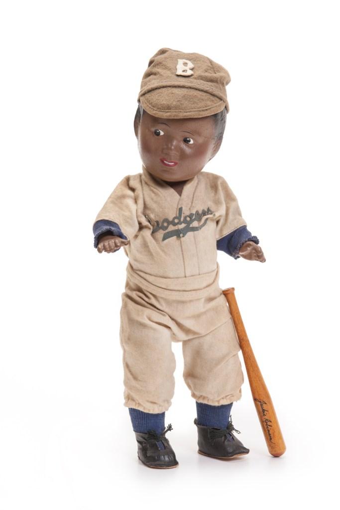 Jackie Robinson doll