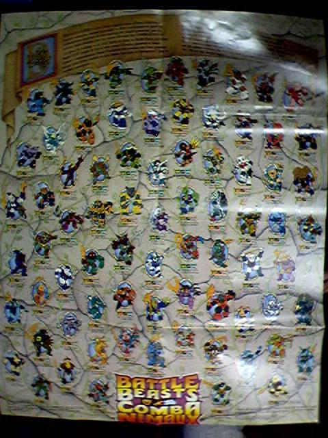 STA Battle Beasts Novelty MailAway Posters