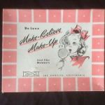 """Make-believe Makeup set"" от Маттел 1946"