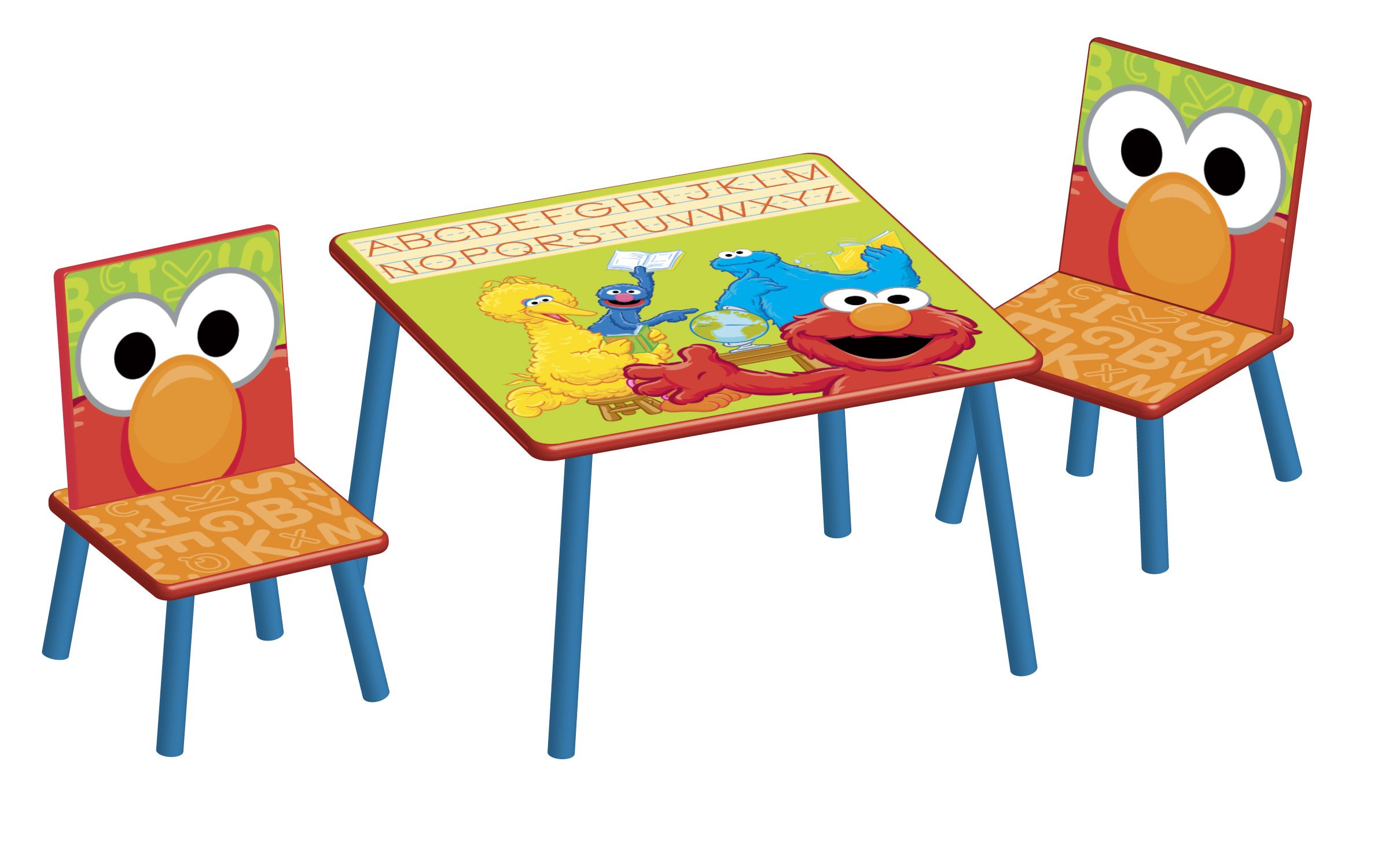 sesame street table and chairs lay out chair 1bb157 the toy book