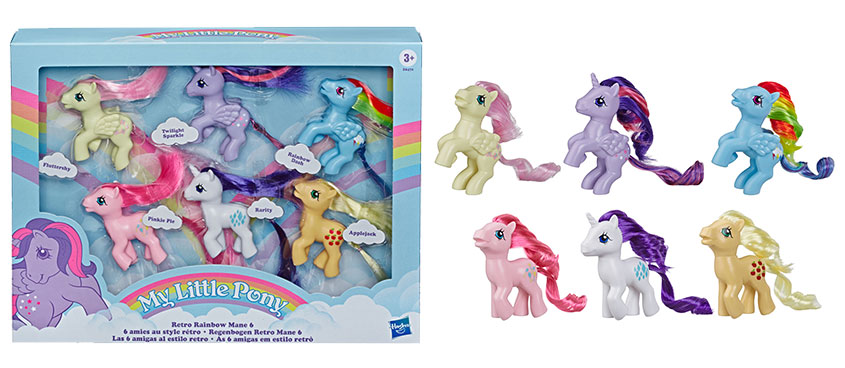 Hasbro Launches Retro My Little Pony Show Collectibles The Toy Book