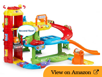 VTech Go! Go! Smart Wheels Park and Learn Deluxe Garage Review