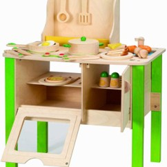 Wooden Play Kitchen Trash Can Cabinet Gift Guide 10 Best Kitchens For Kids Who Love To Cook Hape My Creative Cookery Club