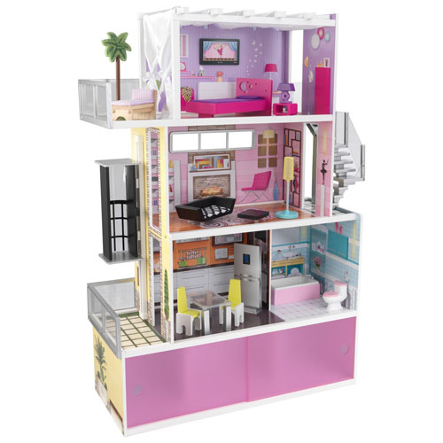 KidKraft Beachfront Mansion Dollhouse with Furniture Review