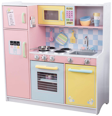 KidKraft Large Pastel Kitchen Review