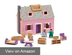 Melissa & Doug Fold and Go Mini Dollhouse Review