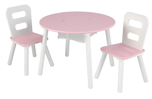 KidKraft Round Table and 2 Chair Set