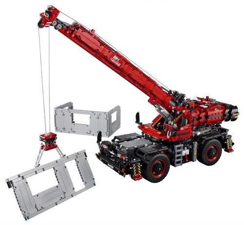 42082: Rough Terrain Crane