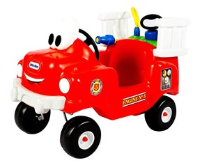 Little Tikes Spray and Rescue Fire Truck Review