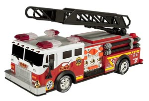 """Toy State 14"""" Rush And Rescue Police And Fire truck Review"""