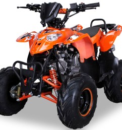 midi kinder quad atv s 5 polari style 125 cc kinderquad orange [ 1620 x 1080 Pixel ]