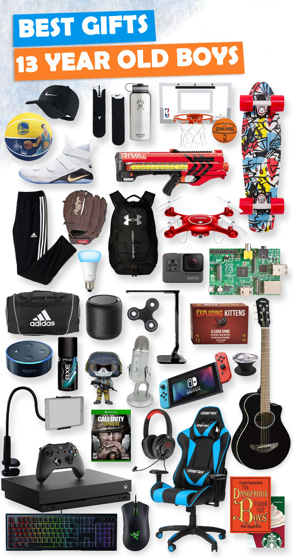 Top Gifts for 13 Year Old Boys