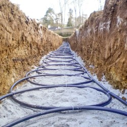 surface geothermal loops 250x250 - Product Information - Geothermal Heat Pumps
