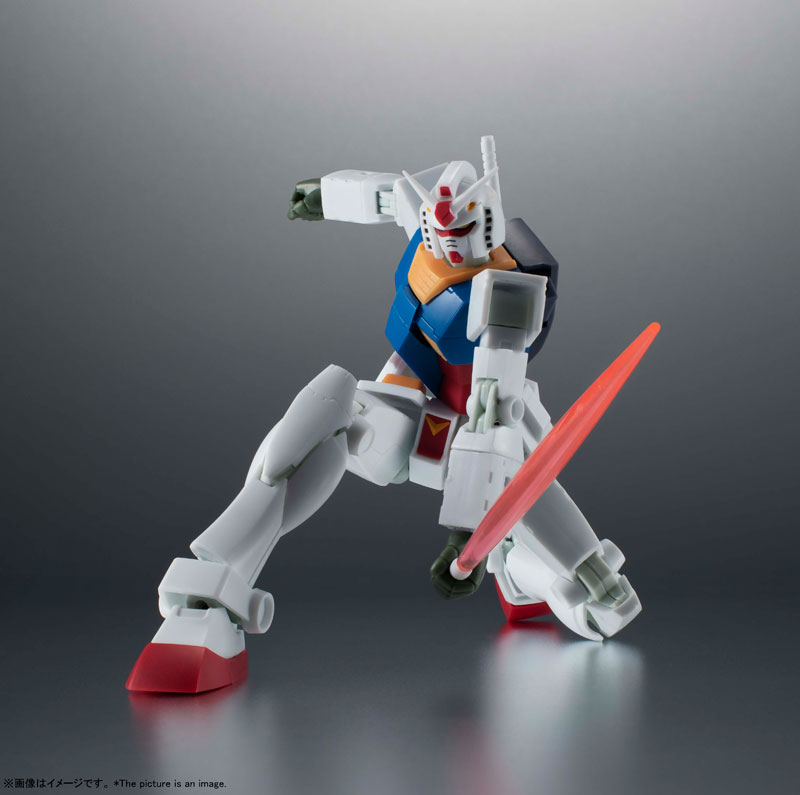 【ガンダム】ROBOT魂〈SIDE MS〉『RX-78-2 ガンダム ver. A.N.I.M.E.[BEST SELECTION]』可動フィギュア【BANDAI SPIRITS】より ...
