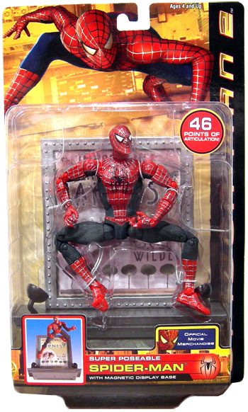 Super Poseable Spider Man : super, poseable, spider, Ultra, Super, Poseable, Spider-Man, Action, Figure, Movie, Series