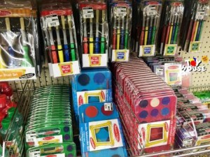 Toy House and Baby Too, paint brushes, art supplies, Melissa & Doug, paints