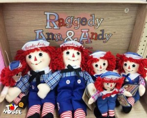 Toy House and Baby Too, dolls, raggedy ann, raggedy andy, baby dolls, toy store