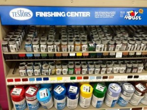 Model Paints at Toy House