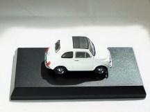 Kyosho 1-64 FIAT Minicar Col - 500 F White - 05