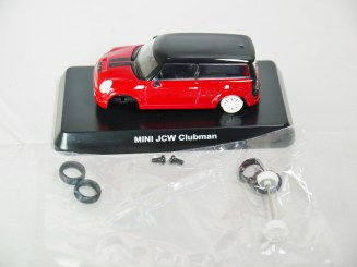 1-60 Kyosho MINI COOPER SEMI-ASSEMBLED JCW Clubman Red 08