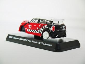 1-60 Kyosho MINI COOPER SEMI-ASSEMBLED JCW WRC Pre March 2012 Liveries 07