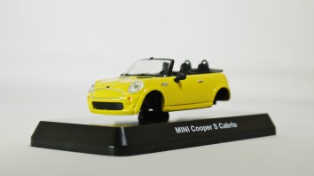 1-60 Kyosho MINI COOPER SEMI-ASSEMBLED S Cabrio YLW 02