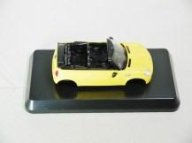 1-60 Kyosho MINI COOPER SEMI-ASSEMBLED S Cabrio YLW 05
