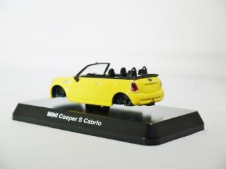 1-60 Kyosho MINI COOPER SEMI-ASSEMBLED S Cabrio YLW 07