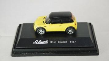 Schuco 1-87 Mini Copper YLW 01