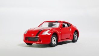 Tomica Assembly Factory Series 3 Elasto NISSAN Fairlady Z Z34 - RED Body & BLK Inter - 02