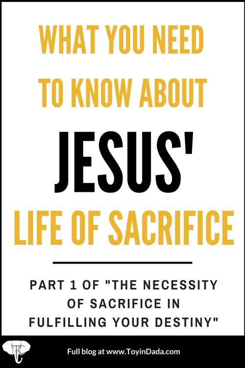 Jesus' sacrifice