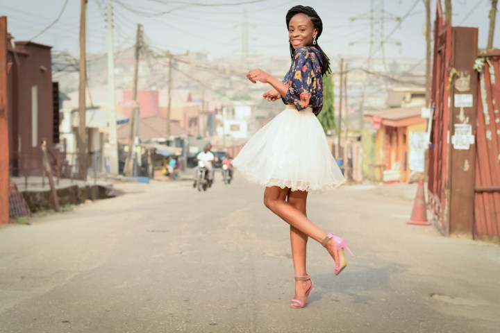 LADE TAKES LAGOS: TWIRLING IN A PUFFY SKIRT