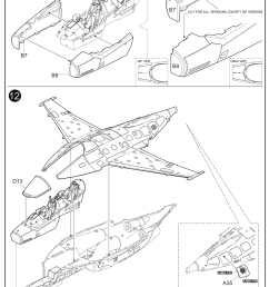 48 m 346 master advanced fighter trainer ki k48063 full [ 1644 x 2242 Pixel ]