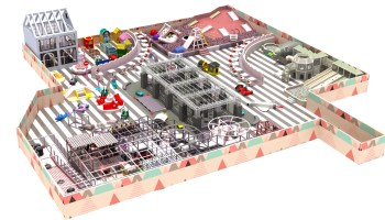 commercial indoor playground business