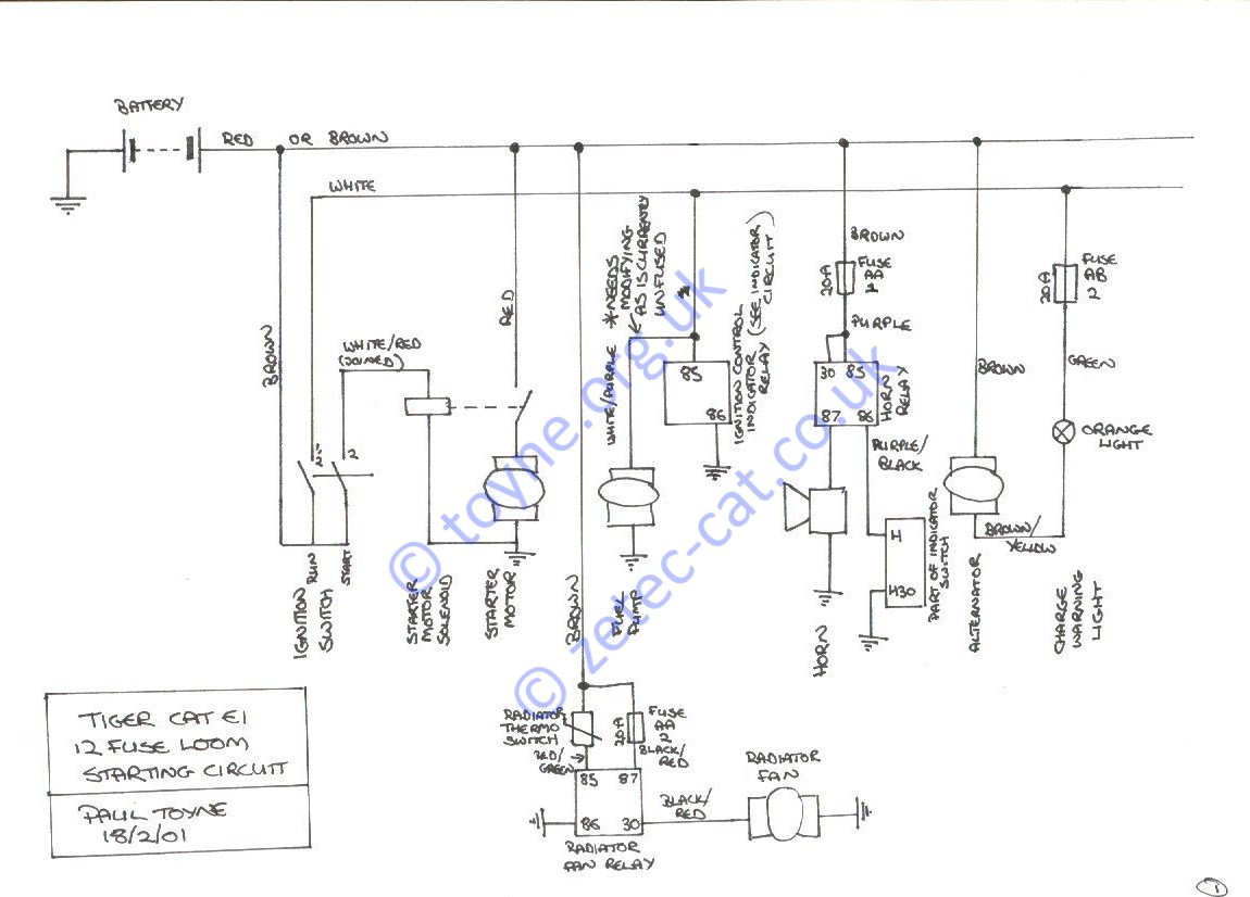 hight resolution of paul u0026 39 s kit car pages wiring kit diagram