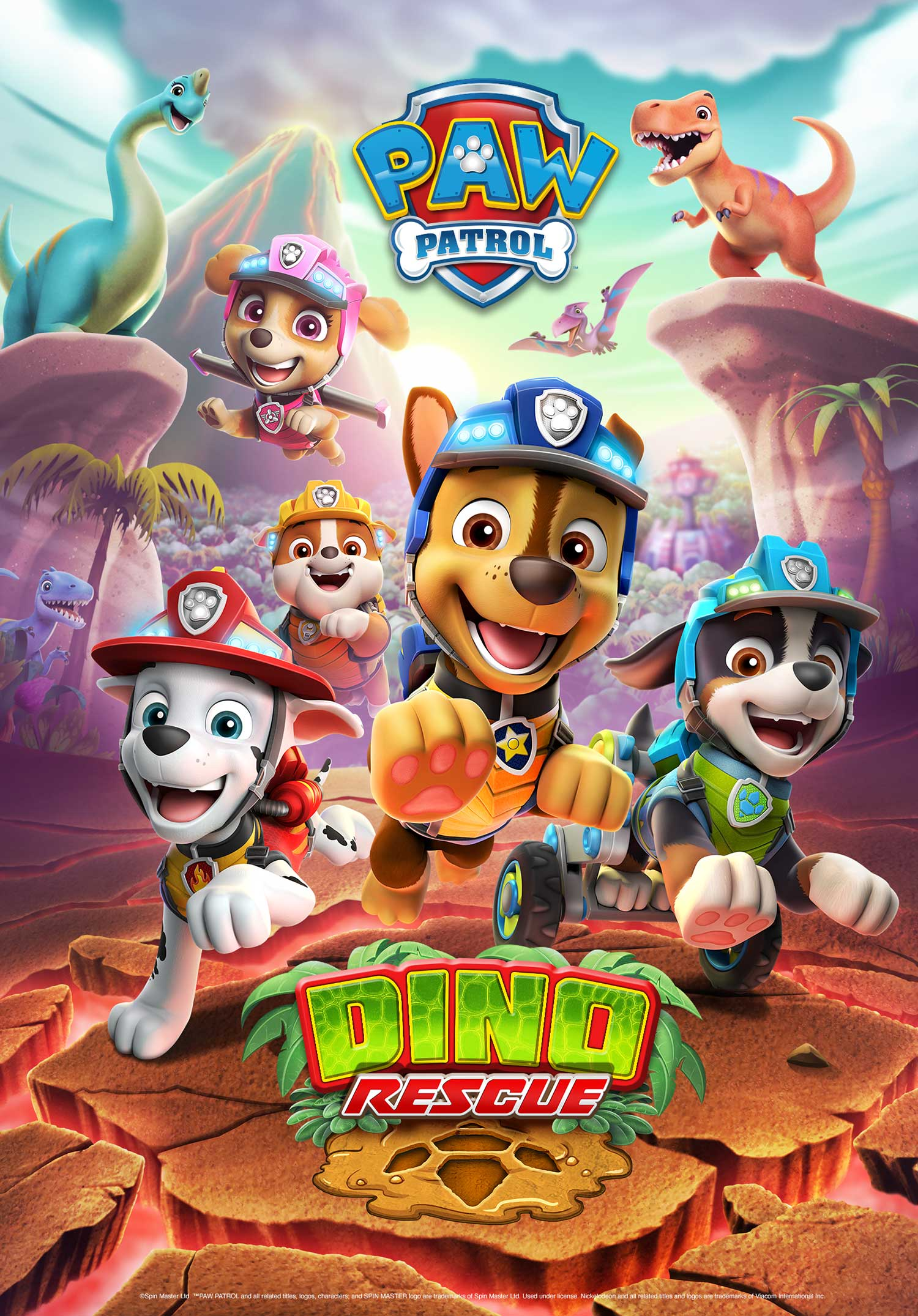 When Does New Paw Patrol Come On : patrol, Sponsored, Content:, Patrol, Prehistoric, Master, Introduces, Rescue, ToyNews